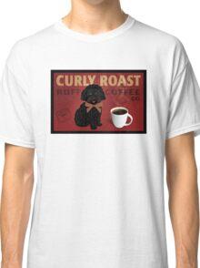 Curly Roast Retro Dog Art Classic T-Shirt