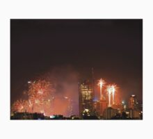 New Year Fireworks (Brisbane City) 31/12/2015 Kids Tee