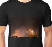 New Year Fireworks (Brisbane City) 31/12/2015 Unisex T-Shirt