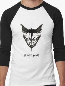 Batface Men's Baseball ¾ T-Shirt