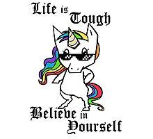 Tough Unicorn Photographic Print