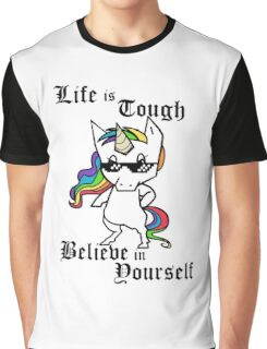Tough Unicorn Graphic T-Shirt