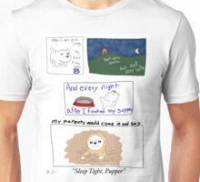 Sleep Tight Pupper:  A Smol Pupper Comic Unisex T-Shirt