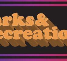 Parks and Rec Retro Sticker