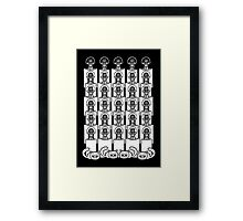 The Deaf, Dumb and Blind and Fluffy Kittens Framed Print