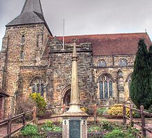 Mayfield Memorial and Church by Dave Godden