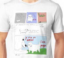 Pupper Origins:  A Smol Pupper Comic Unisex T-Shirt