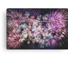 Light Show Mauve Canvas Print