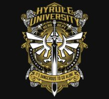 Zelda T-Shirt (Hyrule University) Kids Tee