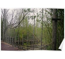 Rope and Wire Fence Poster