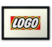 Logo Framed Print