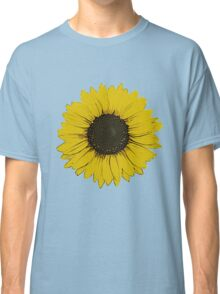 Yellow Sunflower Classic T-Shirt