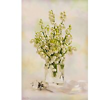 Lily Of The Valley Perfume  Photographic Print