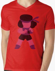 Minimal Ruby/Steven Universe Mens V-Neck T-Shirt
