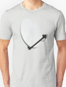 White satellite dish T-Shirt