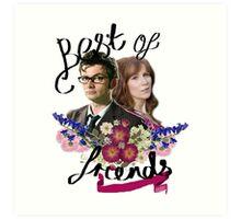 The best of friends Art Print