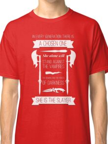 Buffy the Vampire Slayer - Chosen One Classic T-Shirt
