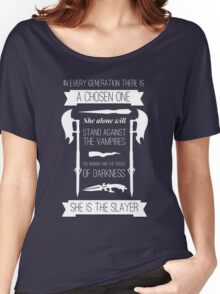 Buffy the Vampire Slayer - Chosen One Women's Relaxed Fit T-Shirt