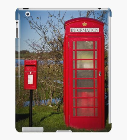 Telephone and Letters iPad Case/Skin