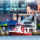 New York Fire Boat by Susan Savad