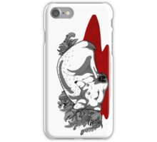 Turn The White Snow Red iPhone Case/Skin