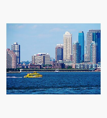 New York Water Taxi Photographic Print