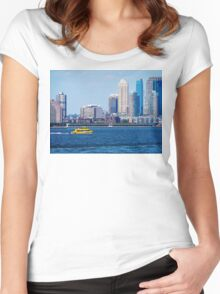 New York Water Taxi Women's Fitted Scoop T-Shirt