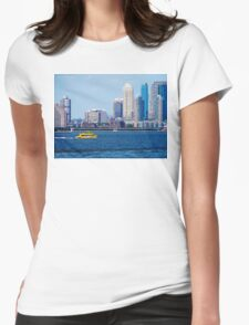 New York Water Taxi Womens Fitted T-Shirt