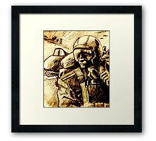 A-10 Warthog Pilot Framed Print