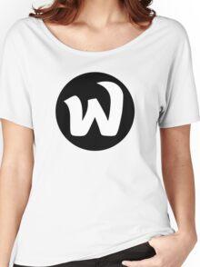 EPHWURD BLACK LOGO Women's Relaxed Fit T-Shirt