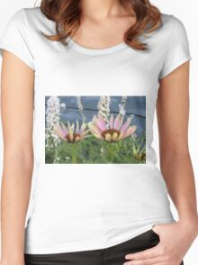 Echinacea Blossoms Women's Fitted Scoop T-Shirt