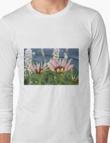 Echinacea Blossoms Long Sleeve T-Shirt