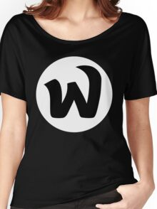 EPHWURD BLACK LOGO Women's Relaxed Fit T-Shirt