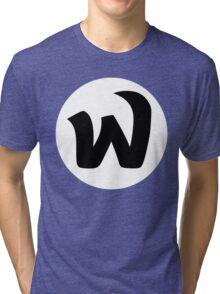 EPHWURD BLACK LOGO Tri-blend T-Shirt