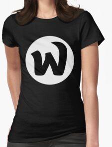EPHWURD BLACK LOGO Womens Fitted T-Shirt