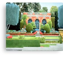 Teahouse Canvas Print