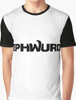 EPHWURD BLACK Graphic T-Shirt