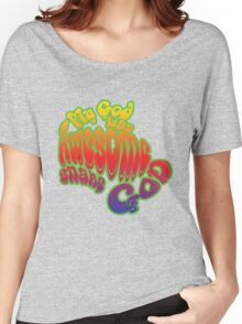 My God is an Awesome Snake God Women's Relaxed Fit T-Shirt