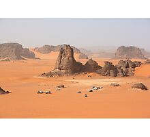Desert in Algeria Photographic Print