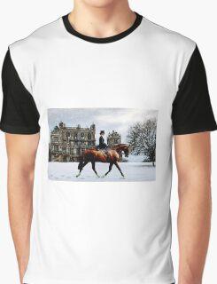 Wollaton Hall Winter Ride Graphic T-Shirt