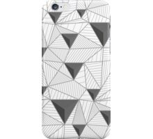 simple pattern of triangles  iPhone Case/Skin