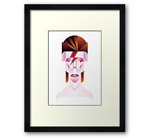 David Bowie (Aladdin Sane) Framed Print