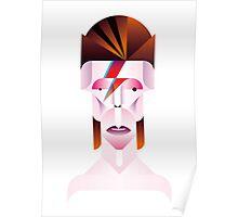 David Bowie (Aladdin Sane) Poster