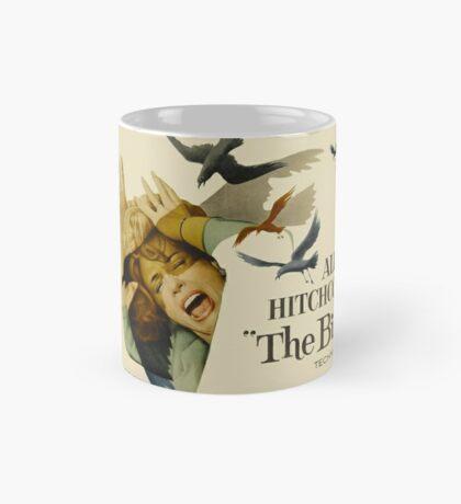 THE BIRDS. HITCHCOCK Mug