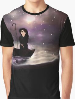 Floating through a coloured perfect world. Graphic T-Shirt