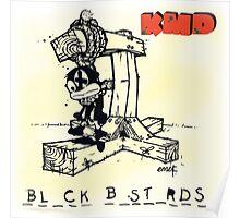 Black Bastards KMD MF Doom Poster