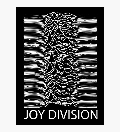 Joy Division W Photographic Print