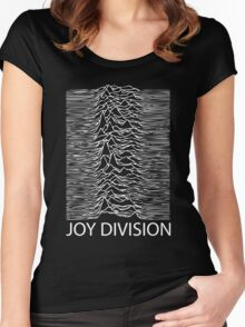 Joy Division W Women's Fitted Scoop T-Shirt