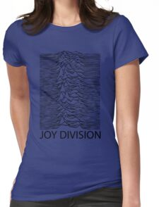 Joy Division B Womens Fitted T-Shirt