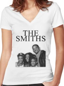 the smiths Women's Fitted V-Neck T-Shirt